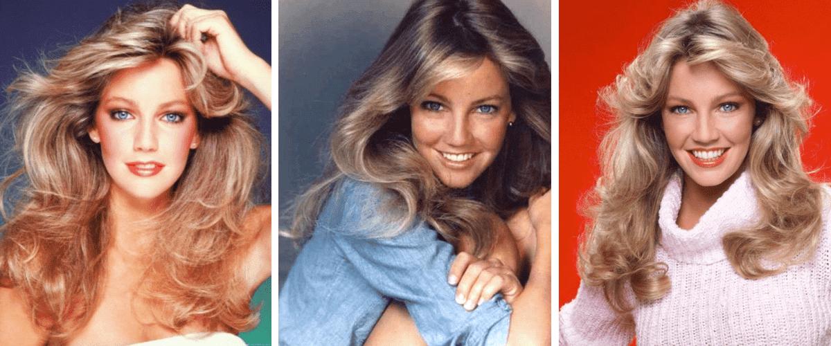trois brushings des années 1980