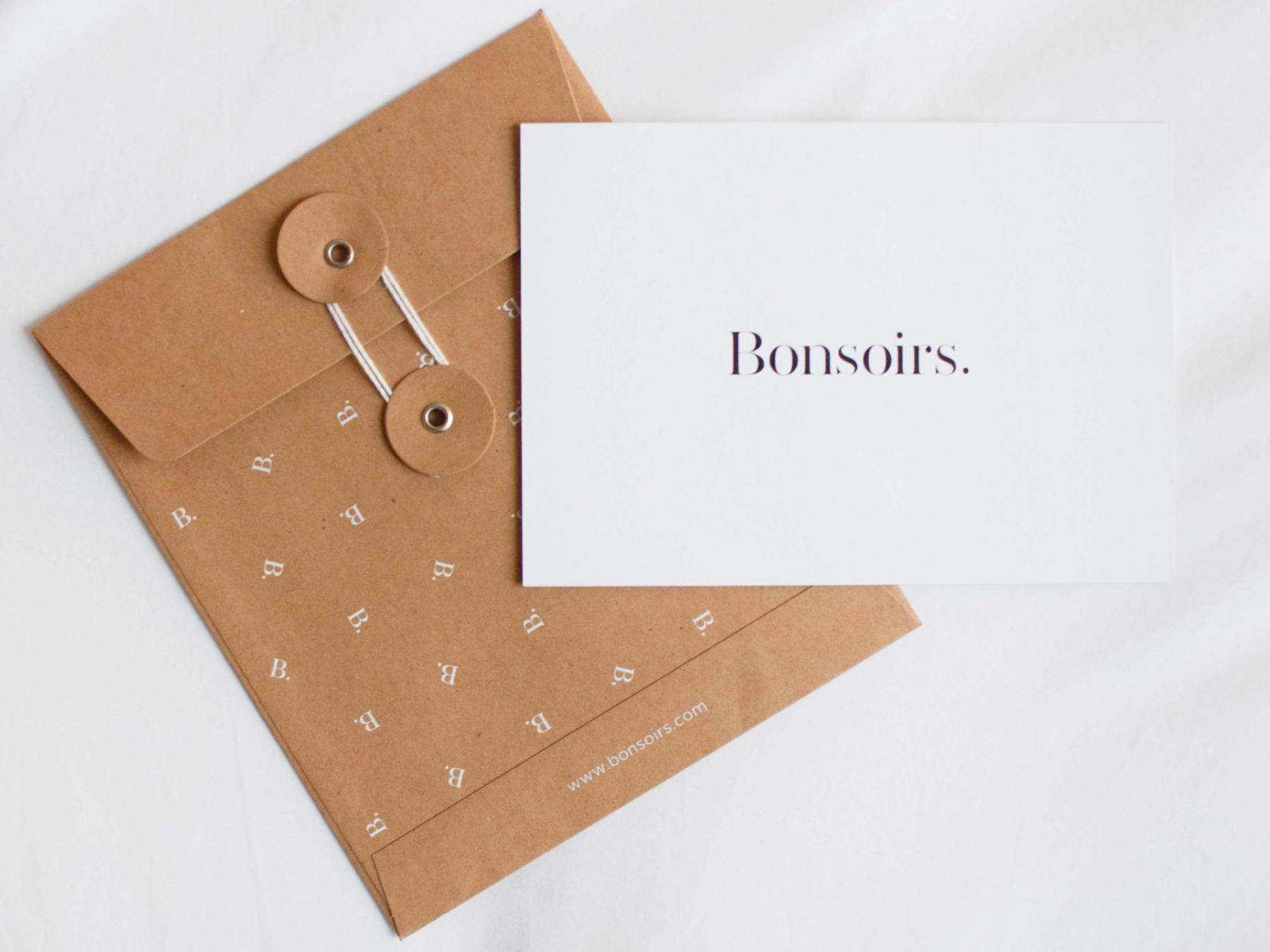 carte cadeau bonsoirs