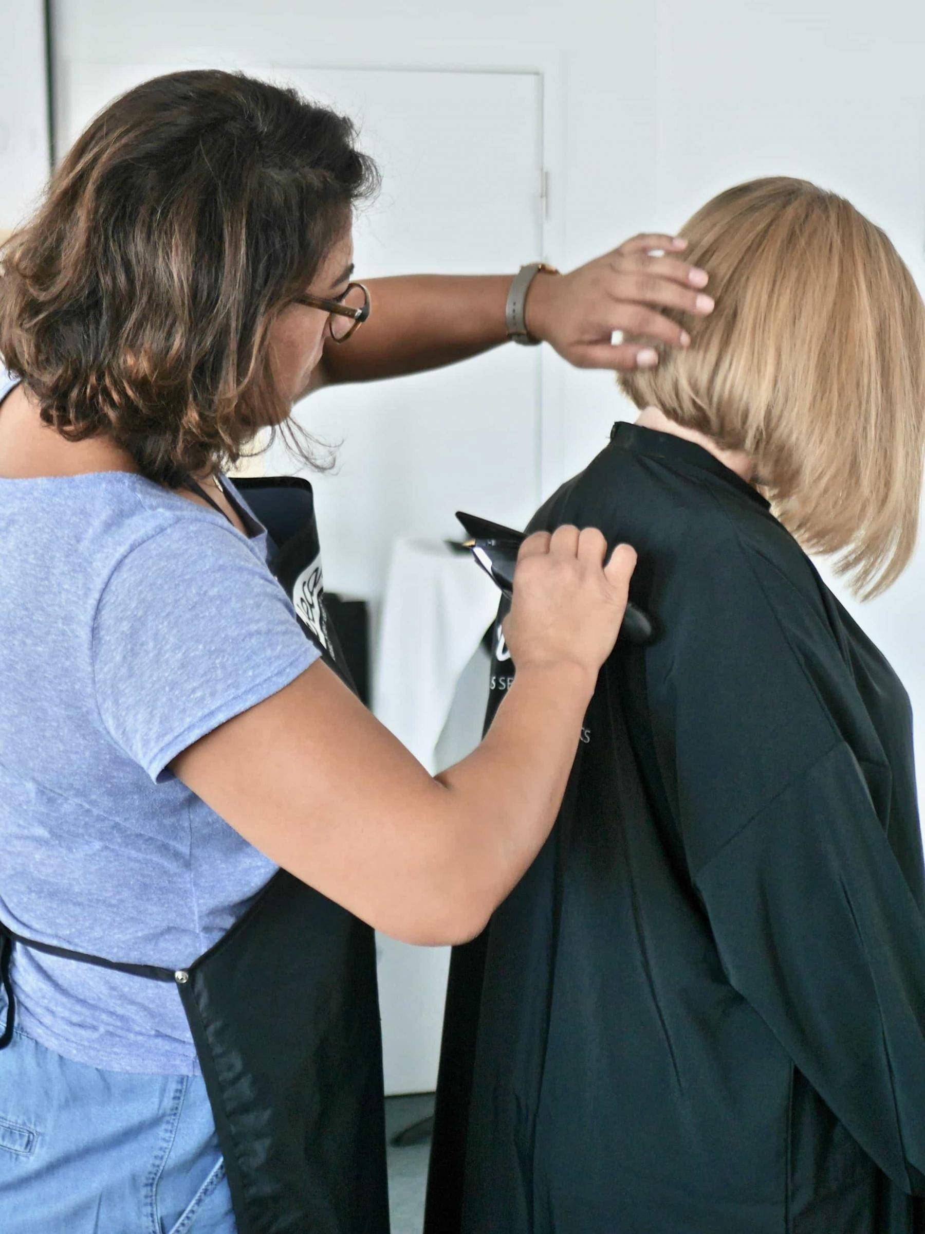 coupe cheveux à domicile
