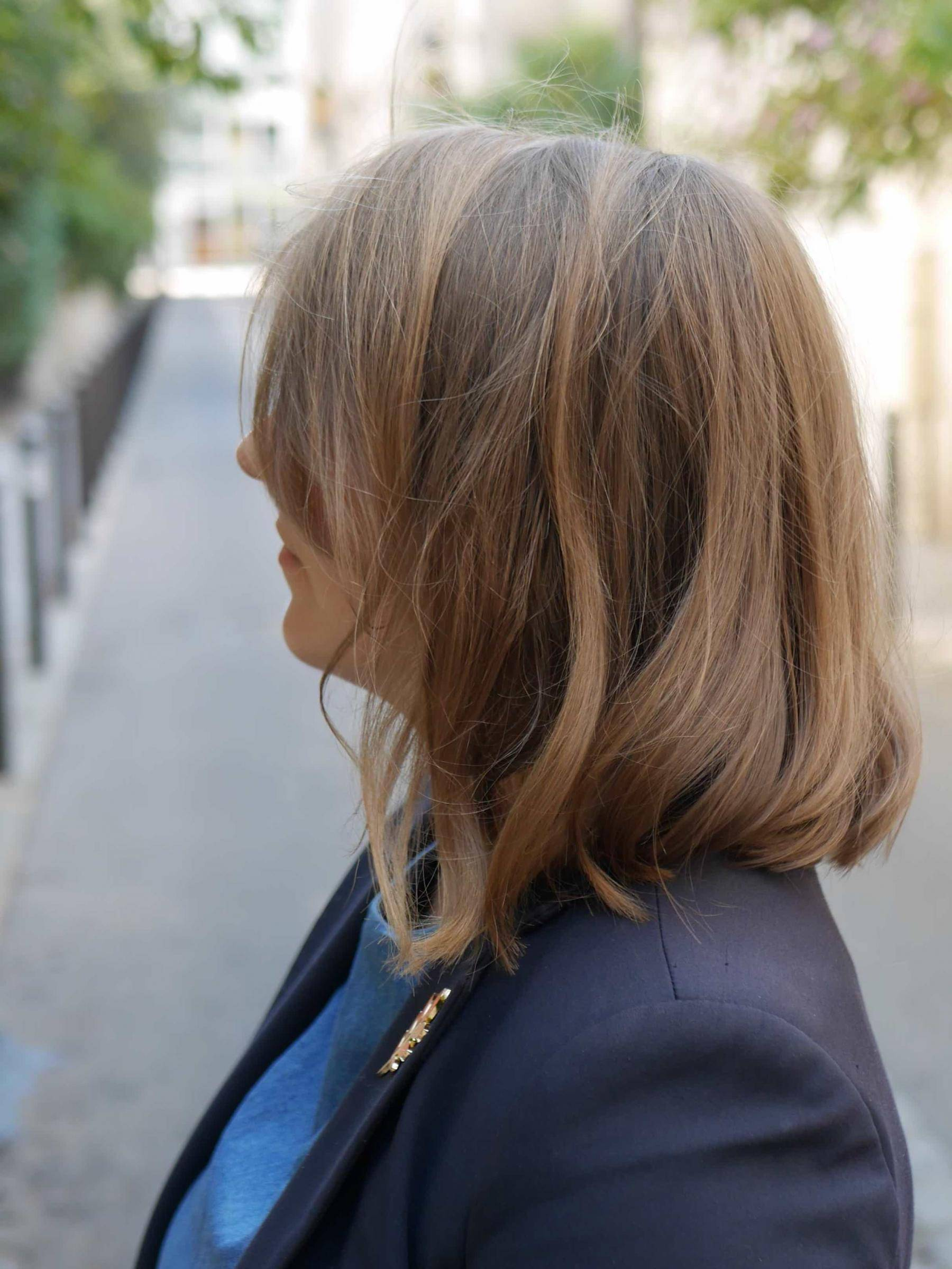 coiffure wavy carré