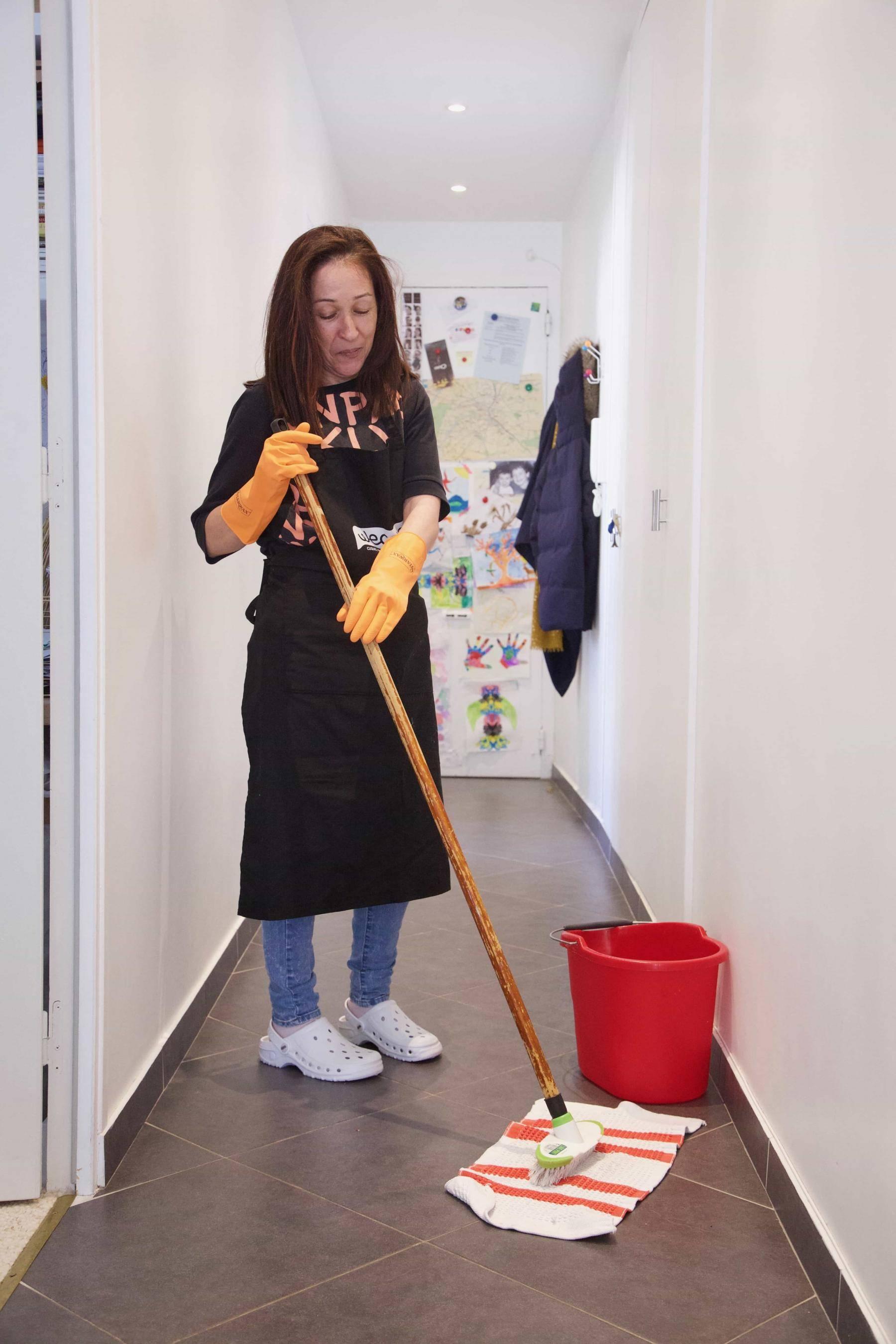 Une femme de ménage Wecasa