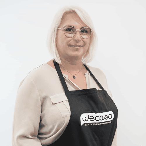 Christelle, coiffeuse Wecasa à Paris 15
