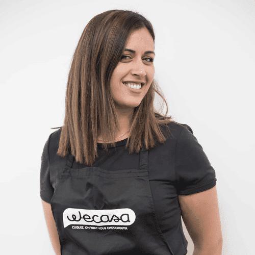 Sabrina, coiffeuse Wecasa à Issy les Moulineaux