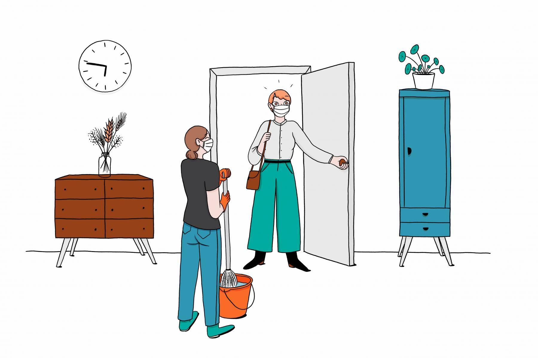 Déconfinement : 5 bonnes raisons de tester le ménage à domicile