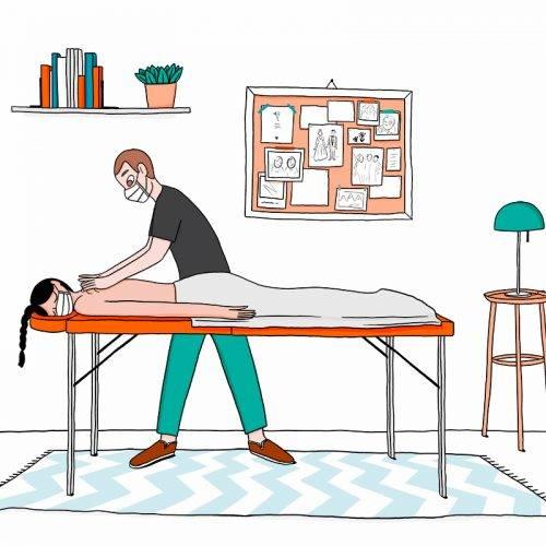 Réserver un massage à domicile pendant le confinement