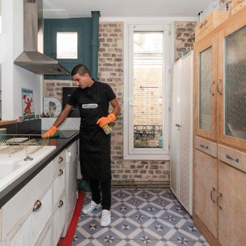 Nettoyage d'une maison avant vente