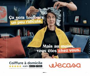 Pub Wecasa Coiffure